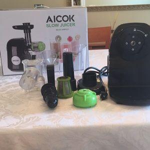 AICOK Slow Juicer Model AMR521